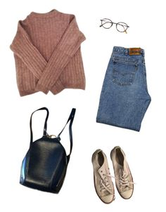 """Used"" by jaxdm ❤ liked on Polyvore featuring Levi's, Converse, Acne Studios, Louis Vuitton and Frency & Mercury"