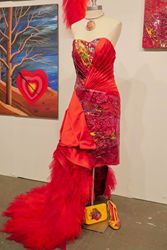 A Fashion First at Art Expo NY Palette Art, Modern Masters, April 21, American Art, Fashion Art, Book Art, Art Projects, Formal Dresses, Unique