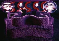 """762 Likes, 12 Comments - CLIMATE CHANGE IS REAL (@seventiees) on Instagram: """"Visiona 2 by Verner Panton, 1970"""""""