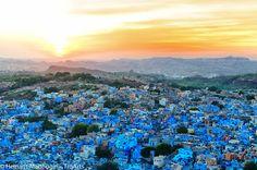 travelthisworld:  The Blue City - View from Mehrangarh Fort, Jodhpur Rajasthan - India submitted by: hemantmadhugiri, thanks!  Hemant Madhugiri   SLR -  Sights Life and Recreation www.hemantmadhugiri.tumblr.com