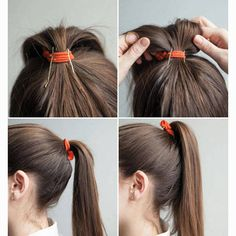 Hair Hacks - Tricks for Styling Your Hair - Harper's BAZAAR Magazine