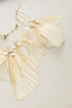 Derya Aksoy @ anthro | butterfly | statement jewelry | necklace