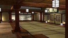 Traditional Japanese Dojo, It is the space that is reserved for martial arts training. Description from pinterest.com. I searched for this on bing.com/images