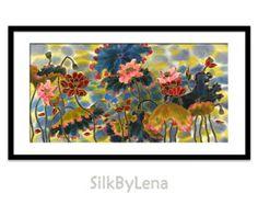 Impresión de GICLEE de la pintura de acrílico de por SilkByLena