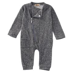 Zip Up Cotton Romper Buy it from our website http://presentbaby.myshopify.com/products/zip-up-cotton-romper?utm_campaign=social_autopilot&utm_source=pin&utm_medium=pin