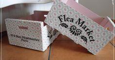 Hola amig@s;   Hoy traigo unas cajas de fruta recicladas.         El exterior esta decorando enteramente con servilleta, este modelo lo comp...