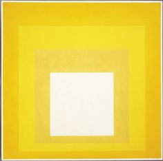 Josef Albers (German/USA, 1888-1976) - Homage to the Square: Terra Caliente, 1963