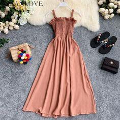 Dresses Elegant, Cute Floral Dresses, Stylish Dresses, Cheap Dresses, Beach Dresses, Girls Dresses, Long Dresses, Sleeveless Summer Dresses, Dress For Beach