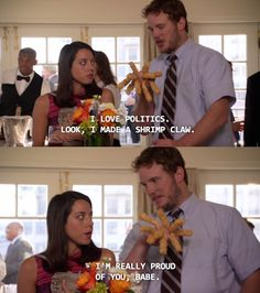 When he emphasized the futility of the political system. | 23 Moments That Prove Andy Dwyer Is Secretly A Genius