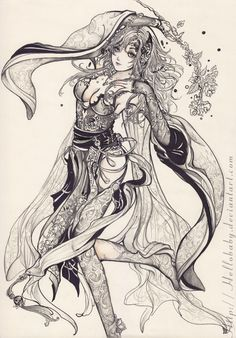 Rydia - Final Fantasy IV by Hellobaby.deviantart.com