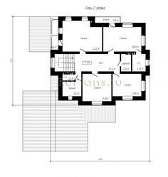 Модель проекта индивидуального двухэтажного жилого дома с подвалом с размерами здания   17,22 x 18,42 м. Наружная отделка  здания - облицовочный кирпич. Фундамент - ленточный монолитный ж/б. Наружные стены - газосиликатный блок с вентилируемым зазором и отделкой облицовочным кирпичом. Внутренние стены - газосиликатный блок. Перегородки - забутовочный кирпич.                 Пол подвала и первого этажа - пол по грунту, пол гаража - монолитная ж/б плита. Межэтажные перекрытия - сборны...