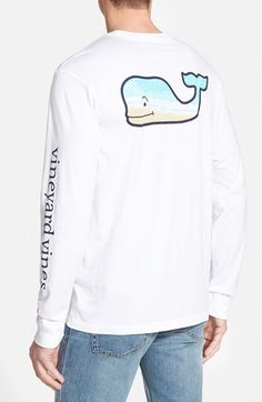 Vineyard+Vines+Long+Sleeve+Graphic+T-Shirt+available+at+#Nordstrom