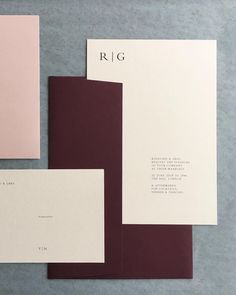 Keeping things simple today with this beautiful invitation suite - a carefully balanced design on a selection of fine papers - make it yours by choosing from over 50 different coloured boards and envelopes x