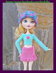 Ropa para Monster High y EAH / Monster High & EAH doll clothes