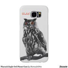 Pharaoh Eagle Owl Phone Case Samsung Galaxy S6 Cases