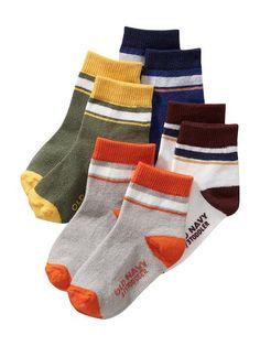Non-Skid Socks 4-Pack for Baby