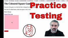 Applications to practice your Selenium Automating and Technical Web Testing https://youtu.be/6OQQEtq_7bQ