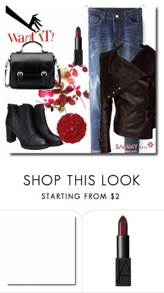 """""""35. sammydress.com/?lkid=322890"""" by goldenhour ❤ liked on Polyvore featuring NARS Cosmetics, Illamasqua, women's clothing, women's fashion, women, female, woman, misses and juniors"""