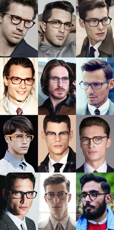 "Men's Spectacles/Eyewear Lookbook Inspiration. Do you live in the San Francisco area? Find your personal eyewear style at Art and Science of Eyewear, Downtown Lafayette - ustom ""BeSpoke"" Eyewear and Designer Ready to Wear options. www.artandscienceofeyewear.com"