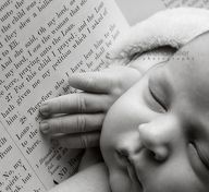 """""""For this child I prayed.""""  Such a beautiful idea for a baby photo - 1 Samuel 1:26-28"""