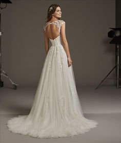 Premier stockists of Pronovias Wedding Dresses with a vast collection of samples to try in our boutique and the option to borrow directly from Pronovias. Wedding Dresses Sydney, Dream Wedding Dresses, Designer Wedding Dresses, Wedding Gowns, Pronovias Wedding Dress, Lace Wedding Dress, Luxury Wedding Dress, Estilo Boho, Beautiful Gowns