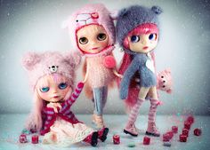 The Bears and the Sheep and all things Pink by © Dani's Art, via Flickr