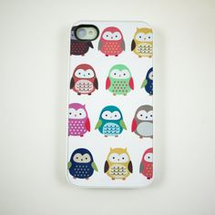 Colorful Owl iPhone 4 Case