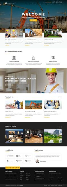 Construction - WP Construction, Building Business. If you like UX, design, or design thinking, check out http://theuxblog.com