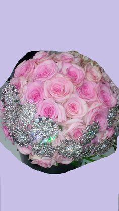 Westdale florists- Beautiful Pink Bouquet with Diamonds
