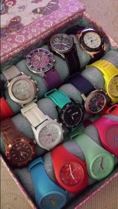 Organizador de relojes #hazlotumismo #relojes #organizadores