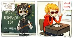 Oh god...this made my day... -- Homestuck - Karkat Vantas -- Dave Strider