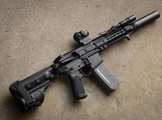 "@shdw_gallery My .300 Blackout pistol featuring a 9"" @ballisticadvantage barrel 8.5"" @slrrifleworks rail @silencerco Omega @arisakadefense light setup & finger stop and @aimpointusa T1 Micro. #ar15buildscom #sbr #ar15 #guns #gundose #gunsdaily #2a #nfa #i"