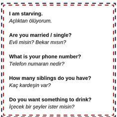 Turkish Language, English Language, Foreign Language, Turkish Lessons, What's The Number, Effective Communication, Learning Spanish, My Passion, Positivity