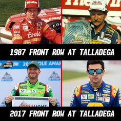 Oh wow, how cool... I was Dale Jrs last Talladega. Awesome race!