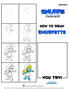 Smurfs Activities – Over 15 Smurfs Activity Pages #SmurfsMovie