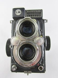 Yashica 44 LM TLR 4x4 with Yashinon f=60mm 1:3.5 classic 127 film  Clean #Yashica
