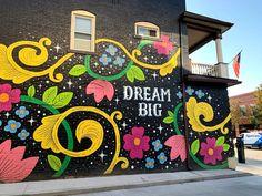 Graffiti Wall Art, Mural Wall Art, Mural Painting, Graffiti Painting, Street Wall Art, Murals Street Art, Street Art Graffiti, Garden Mural, School Murals