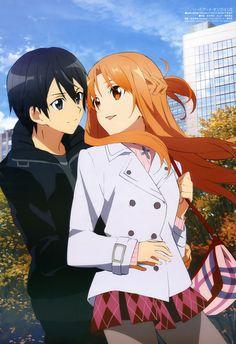Kazuto and Asuna