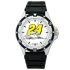 Jeff Gordon NASCAR Option Sport Watch With Rubber Strap by Logo Art. Save 16 Off!. $34.99. Option Sport Watch With Rubber Strap