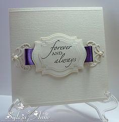 Poppy's Papercraft Patch: CAS WEDDING CARD