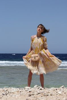 Summer Shades + Pretty Patterns | by Zimmermann in Soma Bay | {click through to see the full shoot}