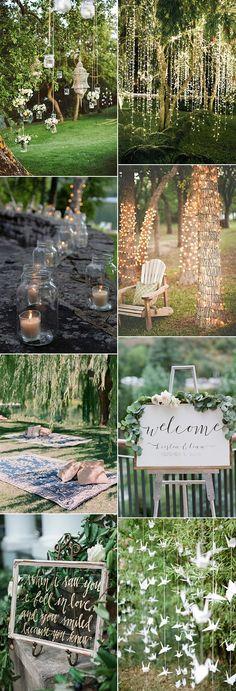 garden wedding decoration ideas for 2018