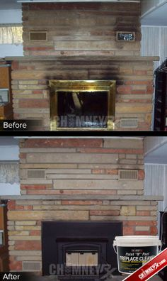 17 best how to clean smoke and soot stains from masonry images rh pinterest com
