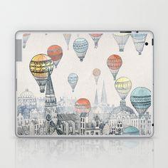 Voyages over Edinburgh Laptop & iPad Skin by David Fleck - $25.00