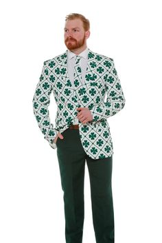 Pre-Order - The Four Leaf St. Patrick's Day Shamrock Blazer - Delivery Early March 2017