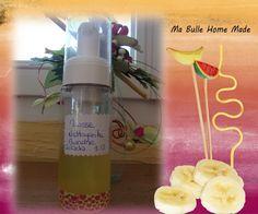 Cucumber and banana cleansing foam Mousse, Homemade Cosmetics, Diy Skin Care, Voss Bottle, Cucumber, Skincare, Handmade, Banana, Cleanser