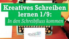 Video zum #Webinar mit Tanja Steinlechner: Kreatives Schreiben lernen 1/9: In den Schreibfluss kommen https://www.youtube.com/watch?v=UIihrcNJptM #schreibtipps #writing