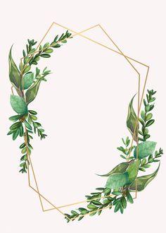 premium illustration of Tropical botanical frame design Tropical botanical frame design illustration