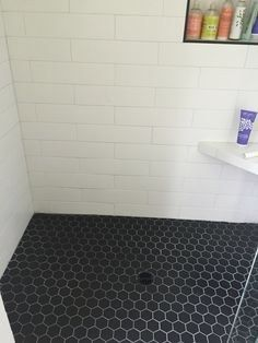 Image Result For 1x1 Shower Floor Tiles Shower Tile Shower Floor Shower Tile Designs