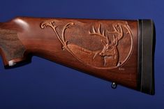 wood gun stock carving patterns | Gun Stock Carvings